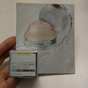 IT confidence in an eye cream - new with box